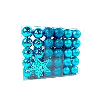 Lifestyle-More-Weihnachtskugeln-Christbaumkugeln-Set-61-teilig-mit-nur-Groen-Kugeln–6-cm-Trkis-inklusive-Sternspitze-und-passenden-Anhngern