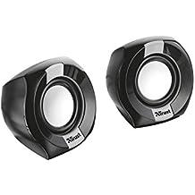 Trust Polo - Altavoces de PC 2.0 compactos de 8 W, negro