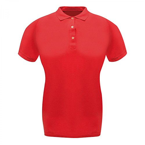 Regatta Damen Classic 65/35 Polo-Shirt / Polohemd, Kurzarm Classic Red