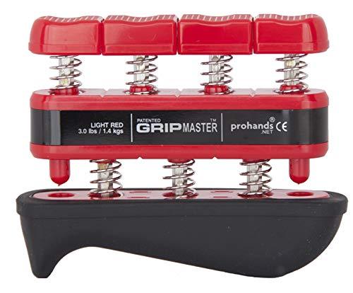 Gripmaster Handtrainer/ Fingertrainer Medical Light, Rot, 1,4kg - Digi-flex Handtrainer