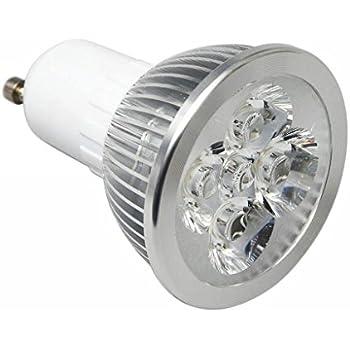 Electraline 63285 Faretto a LED a Risparmio energetico 7W=40W Luce Calda 500 Lumen Attacco GU10