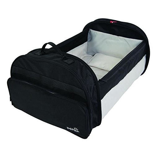 BabySun - 80834167 - Lit de Voyage Simple Bed - Couffin Nomade, Noir