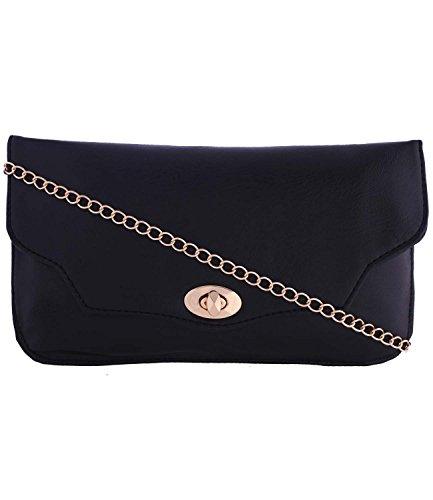 Fristo women slingbag(FRSB-032)Black