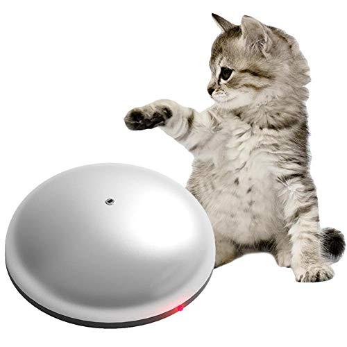 Giocattolo per Robot per Gatti, Giocattolo per arricchimento interattivo per Gatti, 2 in 1 Robot Divertente con occhiolino per Gatti e Macchina per la depilazione di Animali domest