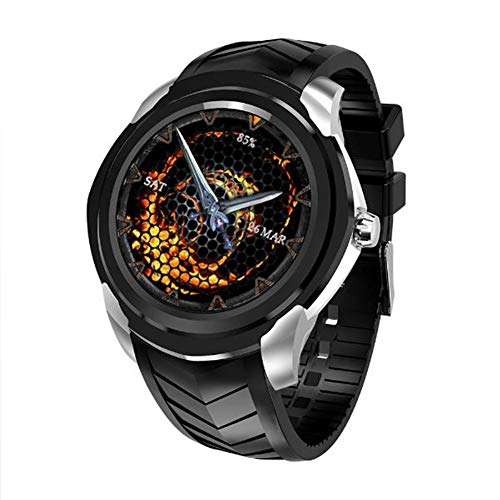 FEIFEIJ C1 Smart Watch,3G unabhängige Karte Sportmesser Schritt Herzfrequenz GPS-Navigation...
