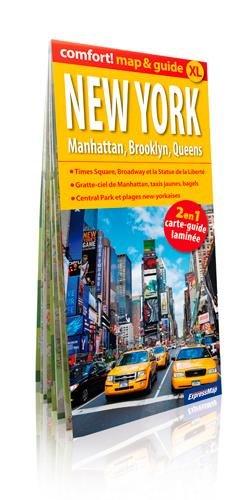 NEW YORK MANHATTAN BROOKLYN.(MAP&GUIDE XL) LAMINEE - New York Mapguide