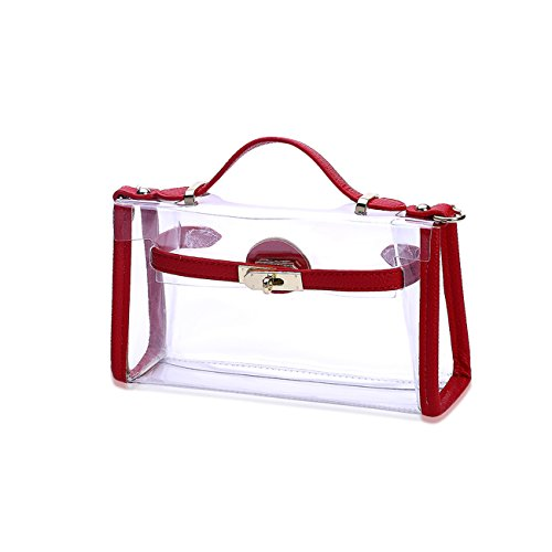 THEE, Borsa tote donna Red