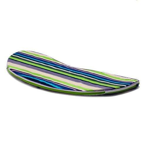 Gardenista Gardenista ® Skiing Gold Collection Stripe paspeliert Banana Bench Sitzkissen-Outdoor Garten