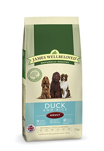 James Wellbeloved Complete Dry Adult Dog Food Duck and Rice, 15 kg 1