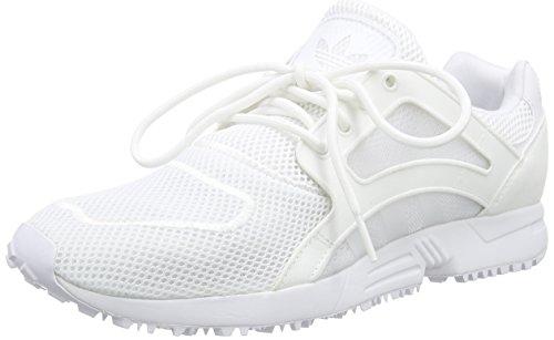 Adidas Racer Lite Mesh Hommes formateurs Blanc Blanc 7.5 nous Blanc (ftwwht/ftwwht/ftwwh)