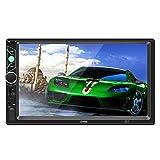 KEZIO Auto-Stereo-Receiver mit 7-Zoll-Digital-Touchscreen, Doppel-Din Bluetooth In-Dash, FM/USB / SD, Drahtlose Fernbedienung Auto MP4 Spieler