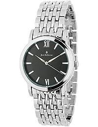 Reloj Mixta Jean Bellecour de cuarzo reloj negro 34 mm y pulsera en alloy plateado jb1033