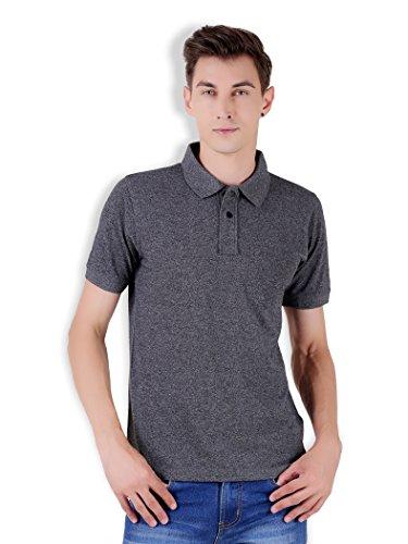 Tapasya Black Anthra Polo T-Shirt