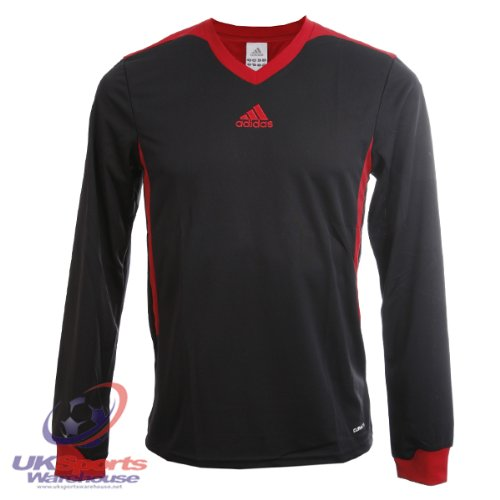 adidas Tabela II Climalite Maniche Lunghe T-Shirt
