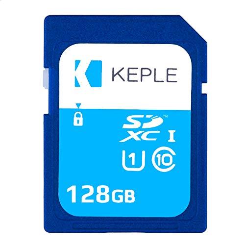 128GB SD-Karte Klasse 10 Hohe Geschwindigkeit Speicherkarte für Canon Powershot SX60, SX610 HS, SX710 HS, SX530 HS, SX410 is, G7, G7 X, SX720, SX540, SX420 / ELPH 360, 180 UHS-1 U1 SDHC 128 GB