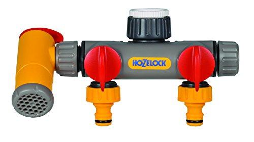 Hozelock 2250 0000 Raccord sélecteur à trois circuits Flowmax pour robinet