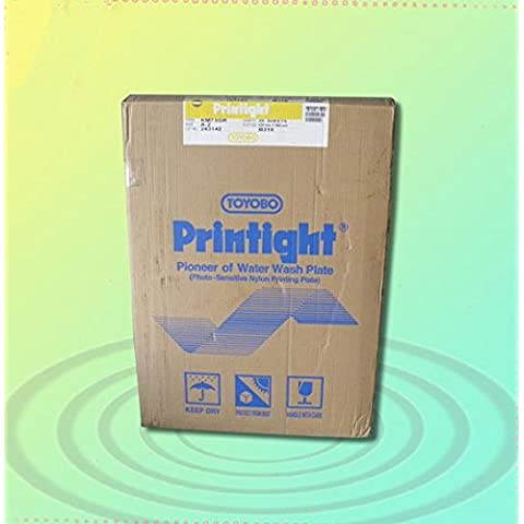 Grosor GOWE agua se debe lavar a 0,73 mm pad printing polímero plato