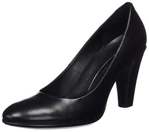 Ecco Damen Shape 75 Round Elegant Pumps, Schwarz (Black), 38 EU