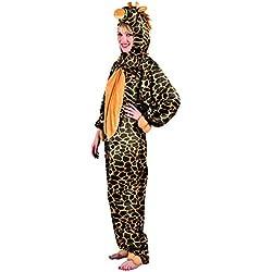 Boland 88000 - traje adulto de la jirafa de peluche, de una sola pieza con capucha, talla M / L
