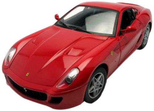Hotwheels (Mattel) - P4398 - Véhicule Miniature - Ferrari 599 GTB Fioriano - Rouge - Echelle 1/18