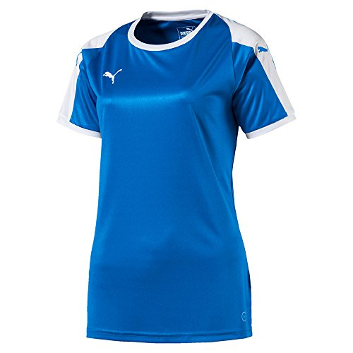 Puma Damen Liga Jersey, Electric Blue Lemonade/White, S
