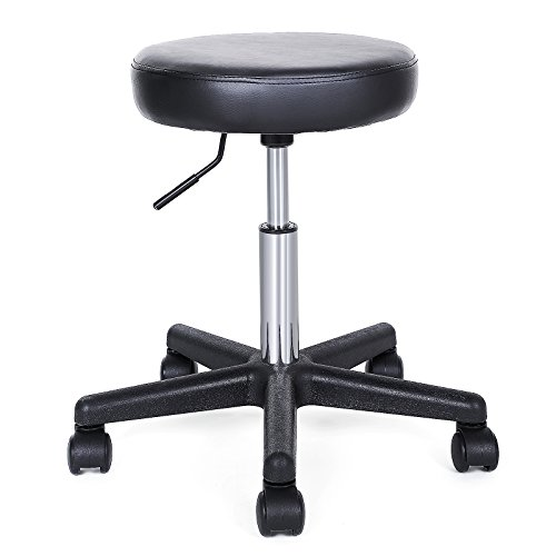 songmics-gas-lift-office-stool-with-casters-round-swivel-stool-with-wheels-adjustable-load-capacity-