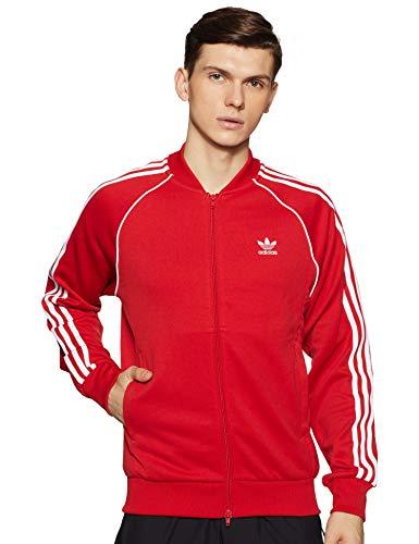 adidas SST Tt, Herren Trainingsjacke XL - Herren Rot Anzug Adidas