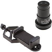 D DOLITY Para Celestron Telescope Lens Eyepiece 3X Magnification + Smart Phone Spotting Scope Adapter Mount