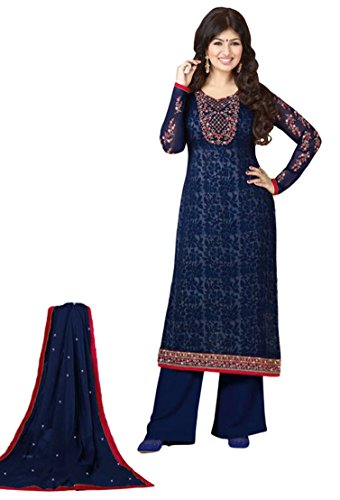Justkartit Women's Occasion Party Wear Salwar Kameez / Casual Wear Semi-Stitched Straight...