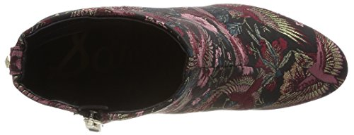 Sam Edelman Taye, Stivali Donna Multicolore (Black Multi Majestic Bird Print)