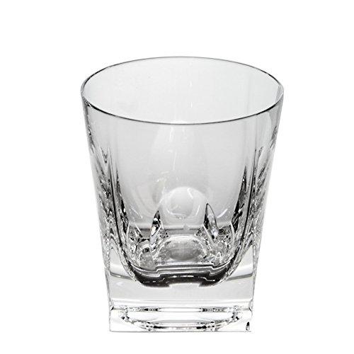 Cristal de Sèvres Fox Trot Set de Verres à Whisky, Verre, 10 x 10 x 10 cm, Lot de 2