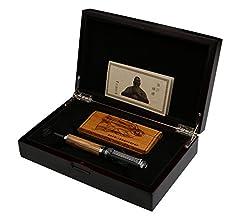 Idea Regalo - Duke 551 Confucius Penna stilografica di lusso, con pennino in iridio, codice 4282