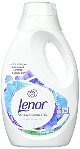 Lenor Vollwaschmittel Flüssig Weiße Wasserlilie, 3,74 l, 4er Pack (4 x 20 Waschladungen)