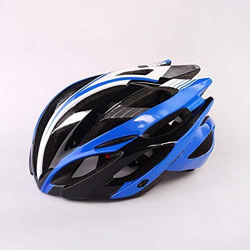 Y-YT Fahrradhelm Fallsicherung Helm Tragen Rollschuhfahren atmungsaktive Outdoor-Rennrad Helm 52-62 cm (52cm Rennrad)