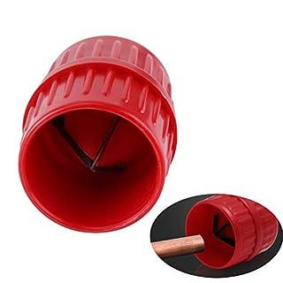 Fortspang Outil d'ébavurage Tuyaux de débavurage universel 5 et 35 mm, Alésoir intérieur/extérieur Outil de plomberie pour tube en cuivre Alésoir PETG et chanfreins en acrylique