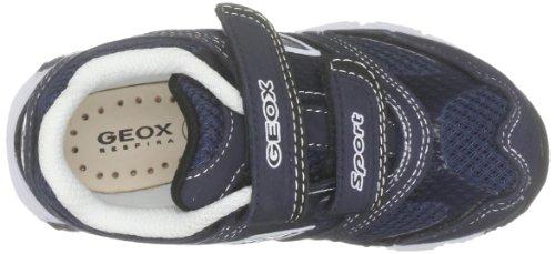 Geox - Baby Ascari, Scarpe primi passi Bambino Multicolore (Blu navy/Bianco)