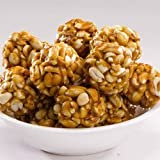#7: Worth2Deal PEANUT BALLS ,500grams,(GUR GAJJAK,KADALAI MITTAI,PEANUT JAGGERY CHIKKI ), KERALA SPECIAL HEALTHY TEA TIME SNACKS