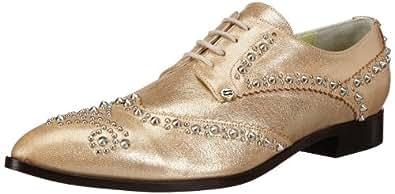 Fersengold Miami 4545.46 Damen Espadrille Halbschuhe, Gold (Gold), EU 36