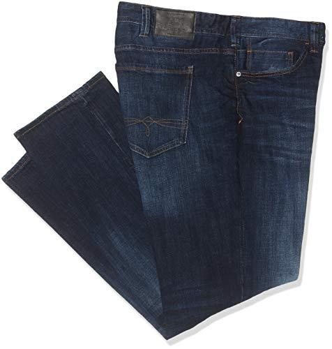 s.Oliver Big Size Herren 15.909.71.5950 Straight Jeans, Blau (Blue Denim Stretch 56z4), W40/L34 (Herstellergröße: 40/34)