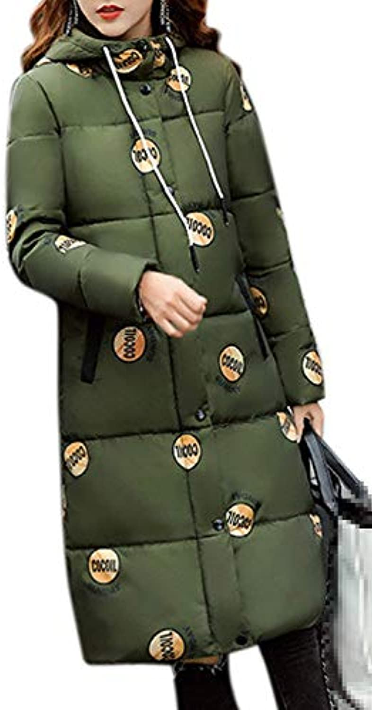 Anaisy Donna Invernali Piumini con Pelliccia Invernali Donna Caldo Facile  Elegante Slim Fit Lunga Giovane Outdoor Addensare Piumino... 9d9ff0 aedf33dc0e2
