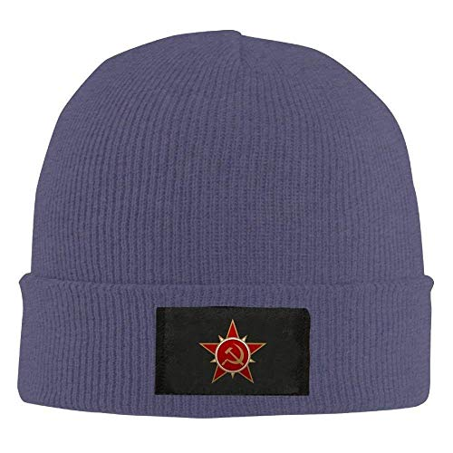 13d906bc19bd8 ERCGY Fashion Baseball Caps Hats Soviet Army Logo - Adult Knit Cap Beanies  Hat Winter Warm