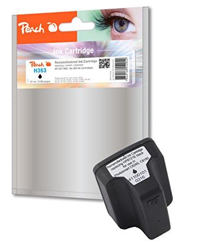 Preisvergleich Produktbild Peach Tintenpatrone schwarz HC kompatibel zu HP No. 363, C8719EE