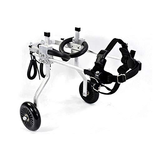 GHMHJH Ciclomotor de Mascota - Silla de Ruedas de Perro, Andador de...