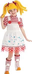 Rubie's Spot Splatter Splash Deluxe Lalaloopsy Fancy Dress for Toddlers