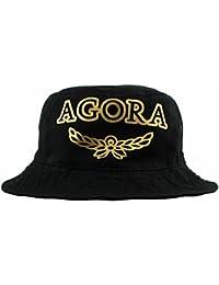 Agora Crest Bucket Hat Chapeau