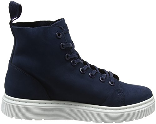 Dr. Martens Talib Brando Black, Chaussures bateau homme Bleu (Indigo Kaya)