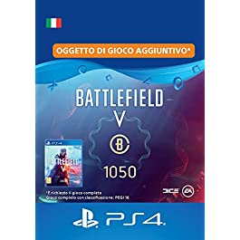 Battlefield V – 1.050 Valuta Battlefield – PS4 Download Code – IT Account DLC | PS4 Download Code – IT Account