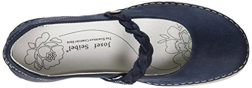 Josef Seibel Antje 05, Damen Geschlossene Ballerinas, Blau (blue), 40 EU -