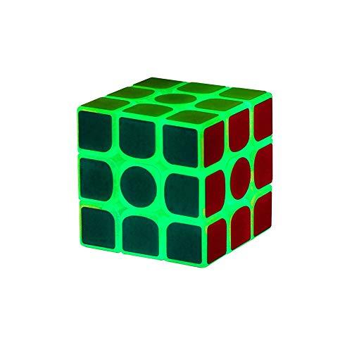 Cubo de Rubik, versión luminosa creativa del cubo de la moda, estilo de diseño de calidad, estilo de diseño clásico de tercer orden (tercer orden) (Edition : Third order)