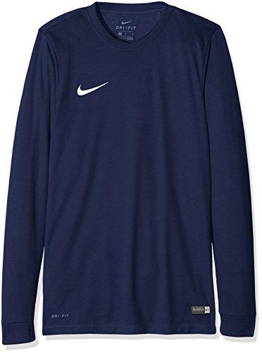 Nike Herren Langarmtrikot Park VI, Midnight Navy/White, XL, 725884-410